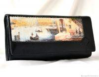 Кожаный кошелёк Старая Венеция