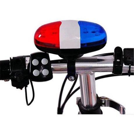 Полицейская сирена-гудок для велосипеда со светодиодами Police Car Light Trumpet JY-326