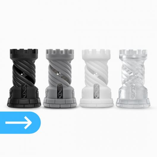 3Д печать фотополимерной смолой Model