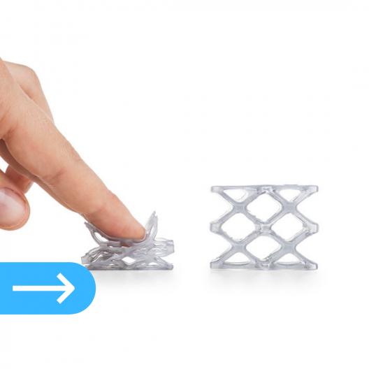 3Д печать фотополимерной смолой FLEX