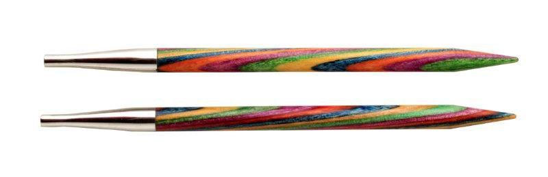 Спицы разъемные Symfonie Knit Pro многоцветное дерево