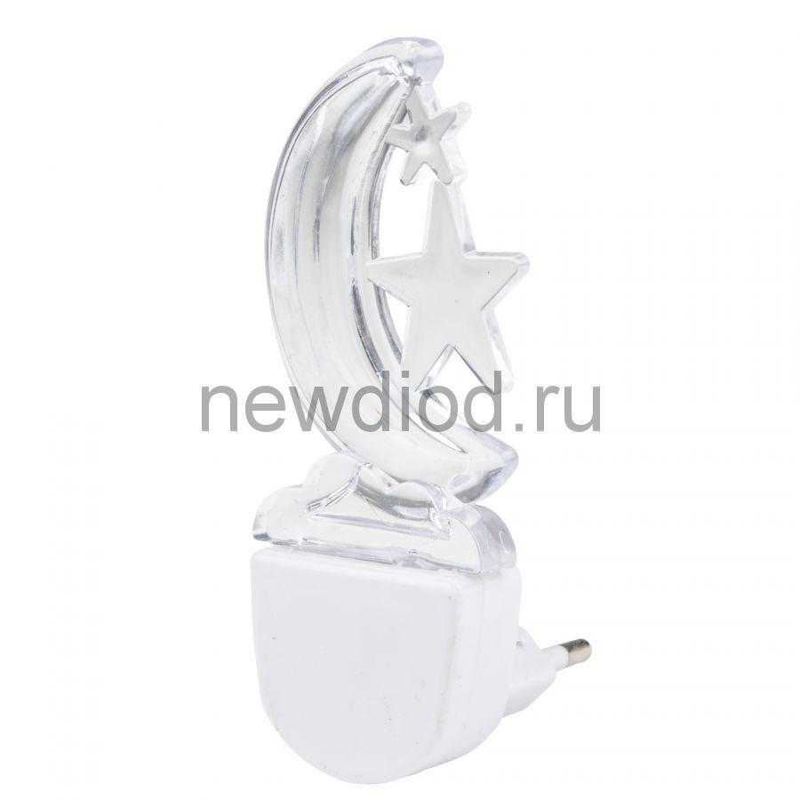 Светильник-ночник Месяц/White DTL-315 без выключателя белый ТМ Uniel