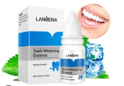 Lanbena -  Средство для отбеливания зубов.(НОВАЯ УПАКОВКА)(33879)