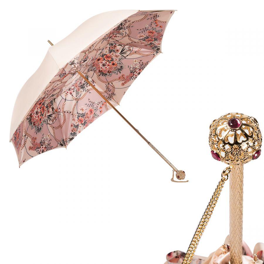 Зонт-трость Pasotti Ivory Jewels Sfera