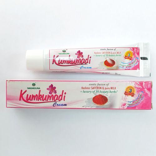 Крем для лица Кумкумади омолаживающий для лица и декольте | 20 г | Nagarjuna