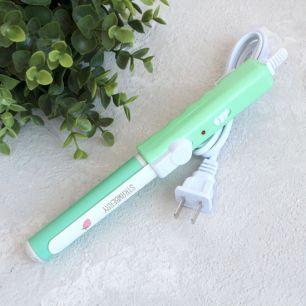 Инструменты для куклоделия - Щипцы для волос мятно-зеленые