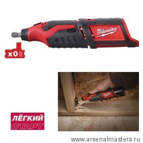 Легкий старт: Аккумуляторная прямая шлифовальная машина MILWAUKEE M12 C12 RT-0 4933427183
