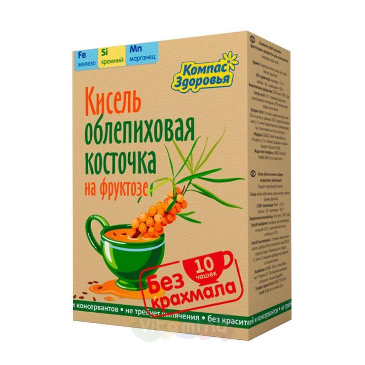 """Кисель """"Облепиховая косточка"""" на фруктозе"""
