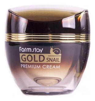 Farm Stay Питательный крем для лица с муцином улитки Gold Snail Premium Cream 50мл