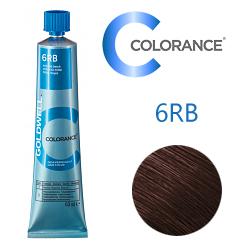 Goldwell Colorance 6RB - Тонирующая крем-краска Красный бук 60 мл