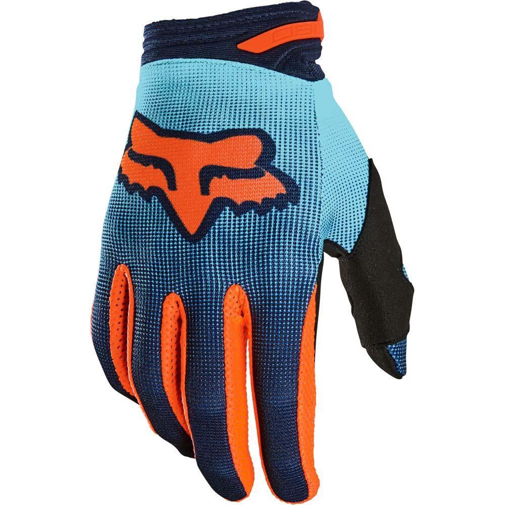 Fox 2021 180 Oktiv Aqua перчатки