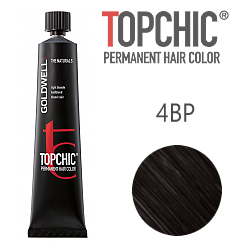Goldwell Topchic 4BP - Стойкая краска для волос - Жемчужный горький шоколад 60 мл.