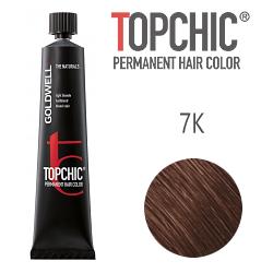 Goldwell Topchic 7K - Стойкая краска для волос - Медный блондин 60 мл.
