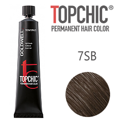 Goldwell Topchic 7SB - Стойкая краска для волос - Серебристо-бежевый 60 мл.