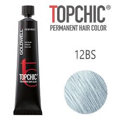 Goldwell Topchic 12BS - Стойкая краска для волос - Серебристо-бежевый блондин 60 мл.
