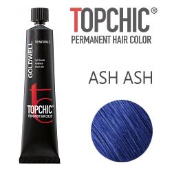 Goldwell Topchic Ash Ash - Стойкая краска для волос микс-тон Пепельно-пепельный 60 мл