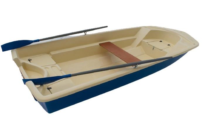 Лодка стеклопластиковая ВИЗА Легант-390
