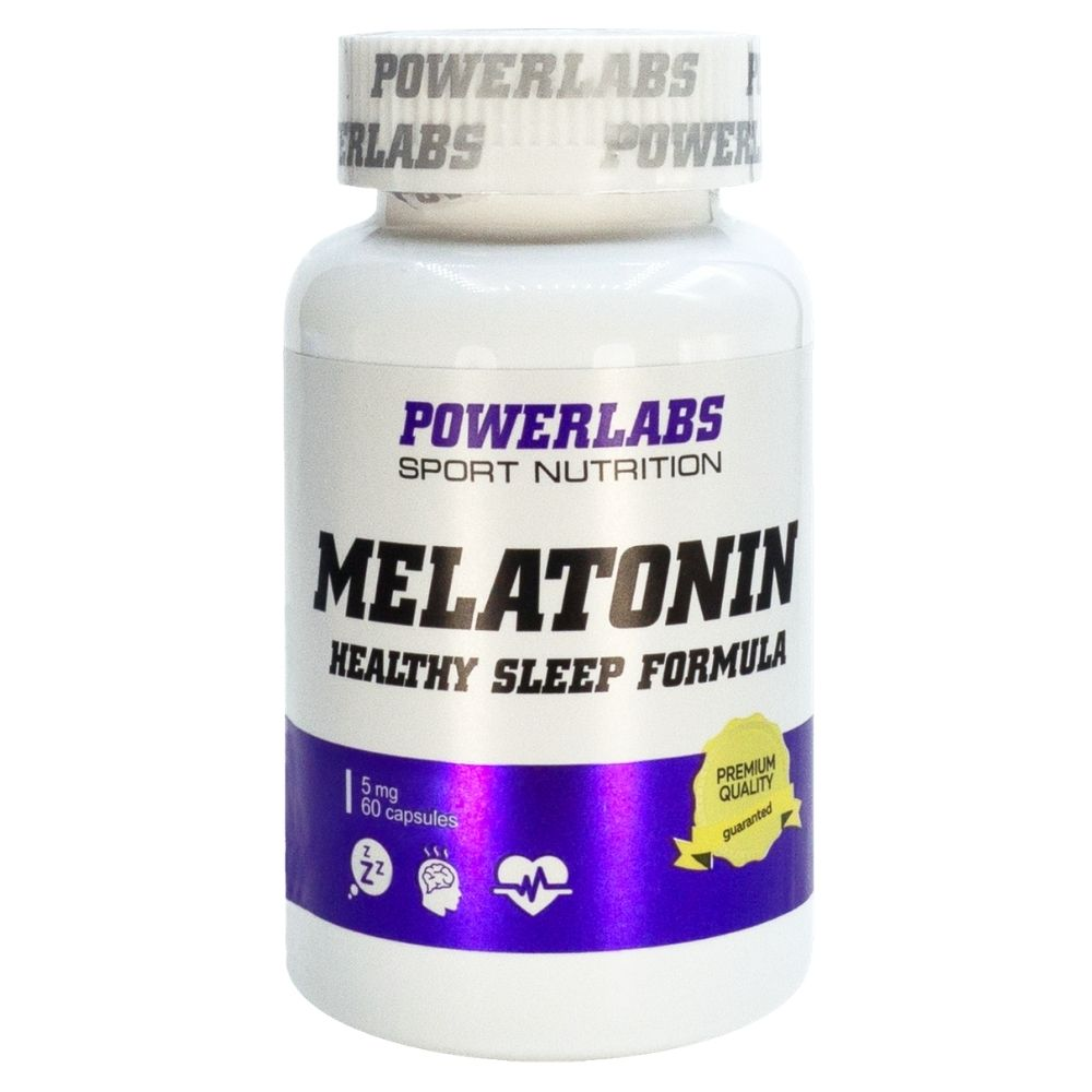 Powerlabs Melatonin 5 mg 60 caps