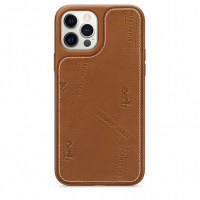 Чехол Hermès Bolduc Leather Case with MagSafe for iPhone 12 Pro