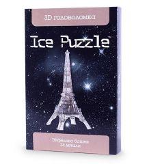 3D головоломка Ice puzzle Эйфелева Башня