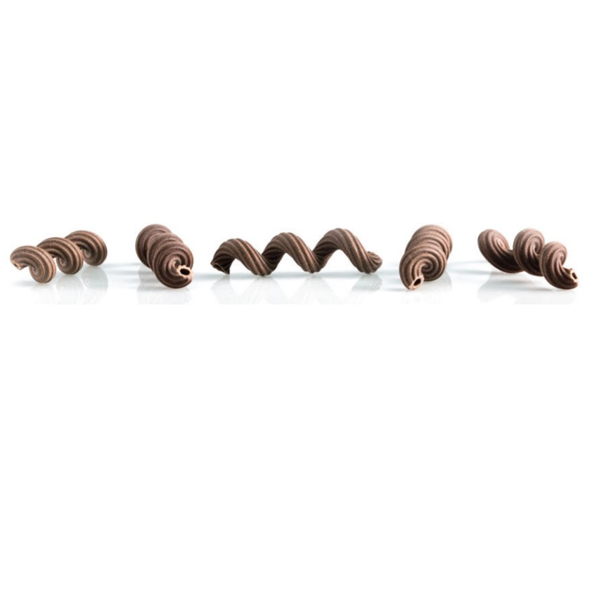 Паста пружинки с какао 500 г, Molle al cacao, Pastificio Curti 500 g