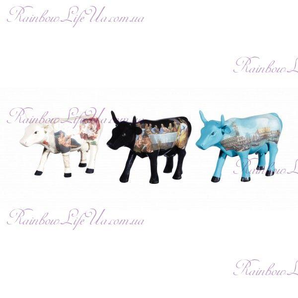 "Набор коллекционных статуэток корова ""Italia"""