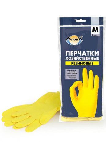Перчатки латексные, хозяйственные Aviora