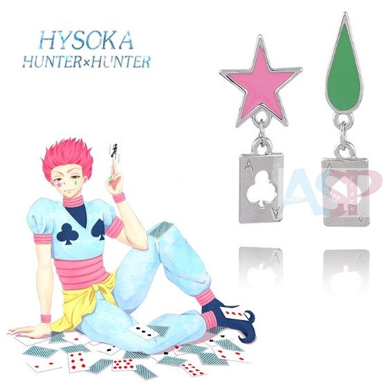 Серьги Hunter x Hunter