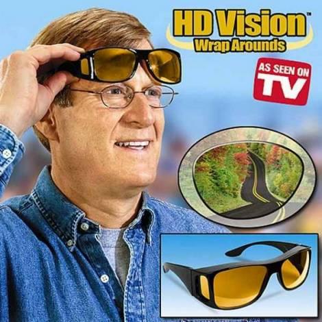 Очки-маска HD vision для защиты днём и ночью