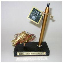 Подставка для ручки Золотая рыбка