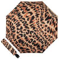 Зонт складной Moschino 8562-OCE Animal Brown