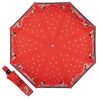 Зонт складной Moschino 7961-OCC Olivia Scarves Red