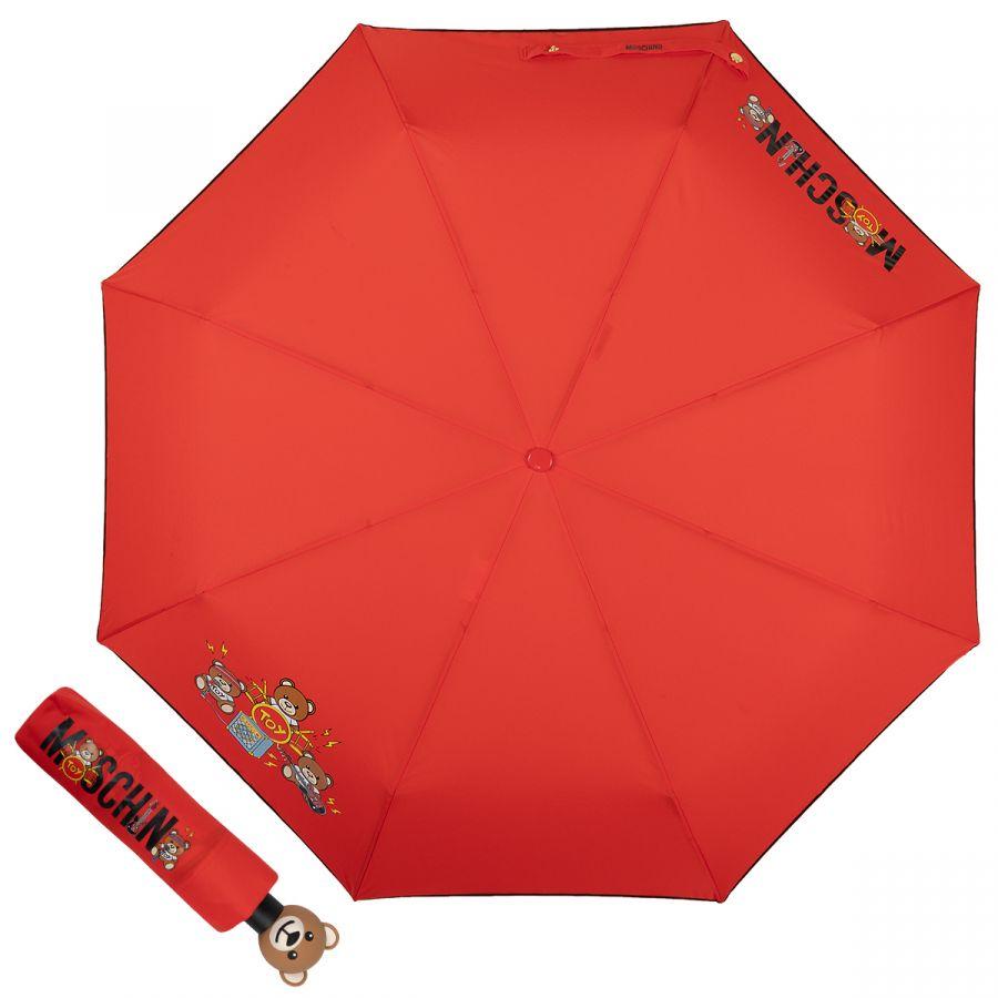 Зонт складной Moschino 8031-OCC Toy Band Red