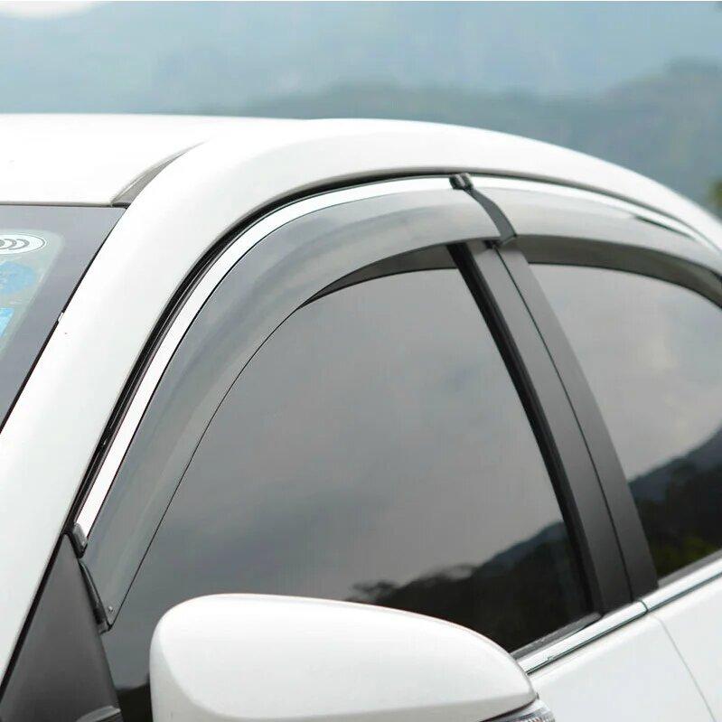 Дефлекторы окон Mitsubishi Outlander (2007-2021г)