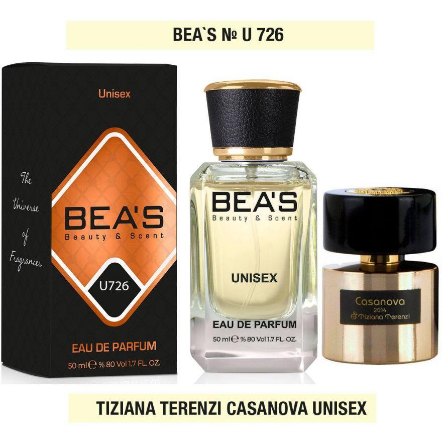BEA'S (Beauty & Scent) U 726 - Tiziana Terenzi Casanova 50 мл