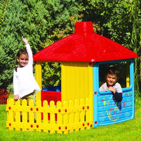 Дом с забором Dolu 3011