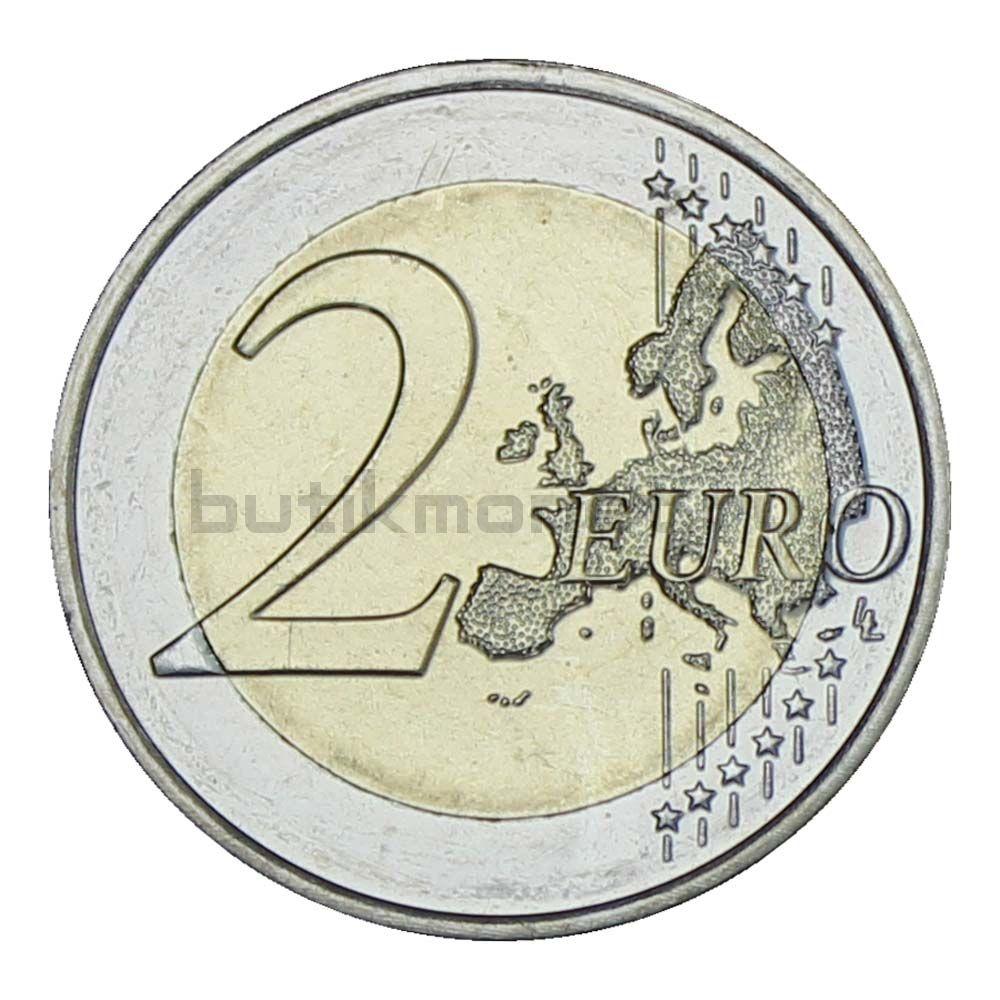 2 евро 2021 Люксембург 40 лет свадьбы Великого герцога Анри и Марии (Тиснение)