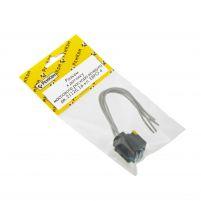 RK04183 * Разъем к датчику массового расхода воздуха дв. 21126, 16-кл. ЕВРО-4 (с проводами сечением 0,5 кв.мм, длина 120 мм)