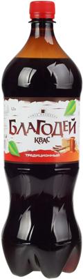 Квас Благодей традиционный 2л Томск