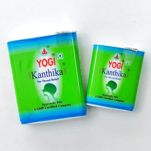 Гранулы от боли в горле и для свежего дыхания Йоги Кантика | Yogi Kanthika | 140 гранул