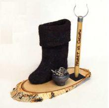 Валенок из Сибири -  подарок партнеру или коллеге из другого региона.