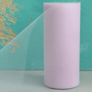 Фатин в рулоне - Нежно-розовый