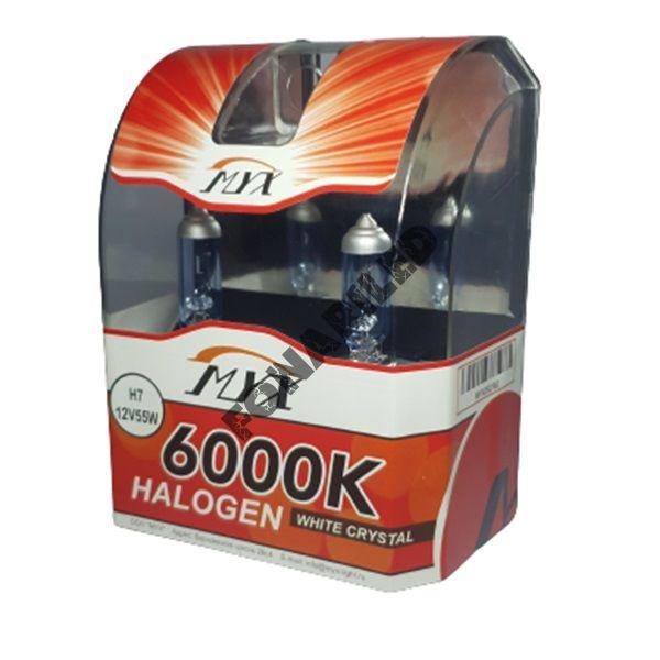 Галогеновые лампы H7 12V 55W 6000K