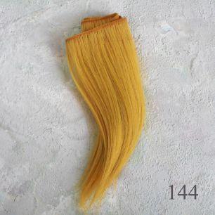 Тресс натуральный (козочка) - Солнечно-рыжий, прямые  УЦЕНКА 85 см