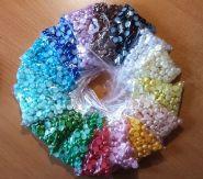 ПОЛУБУСИНЫ ПЕРЛАМУТР диаметр  10 мм цена за упаковку 10 шт  ЦВЕТ НА ВЫБОР
