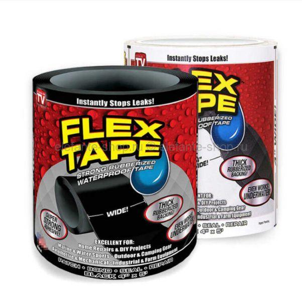 "Сверхсильная клейкая лента Flex Tape 4"" (10х152 см)"