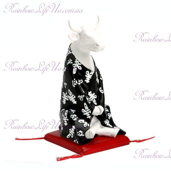 "Коллекционная статуэтка корова ""Meditating"", Size M"