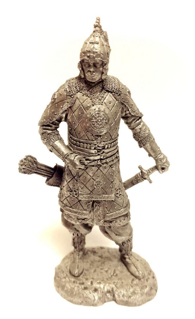 Фигурка Татарский знатный воин олово