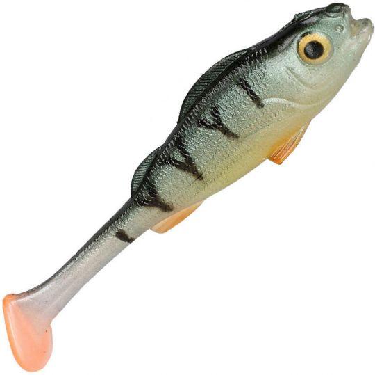 Виброхвост Mikado REAL FISH /  PERCH окунь PMRFP ароматизатор креветка