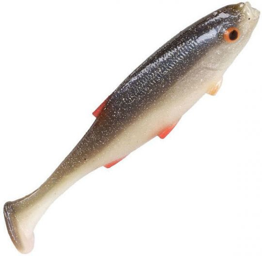 Виброхвост Mikado REAL FISH /  ROACH плотва PMRFR ароматизатор креветка
